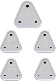 Store2508 Child Proofing Electrical Socket Cover Guards (White). (Pack of 5)