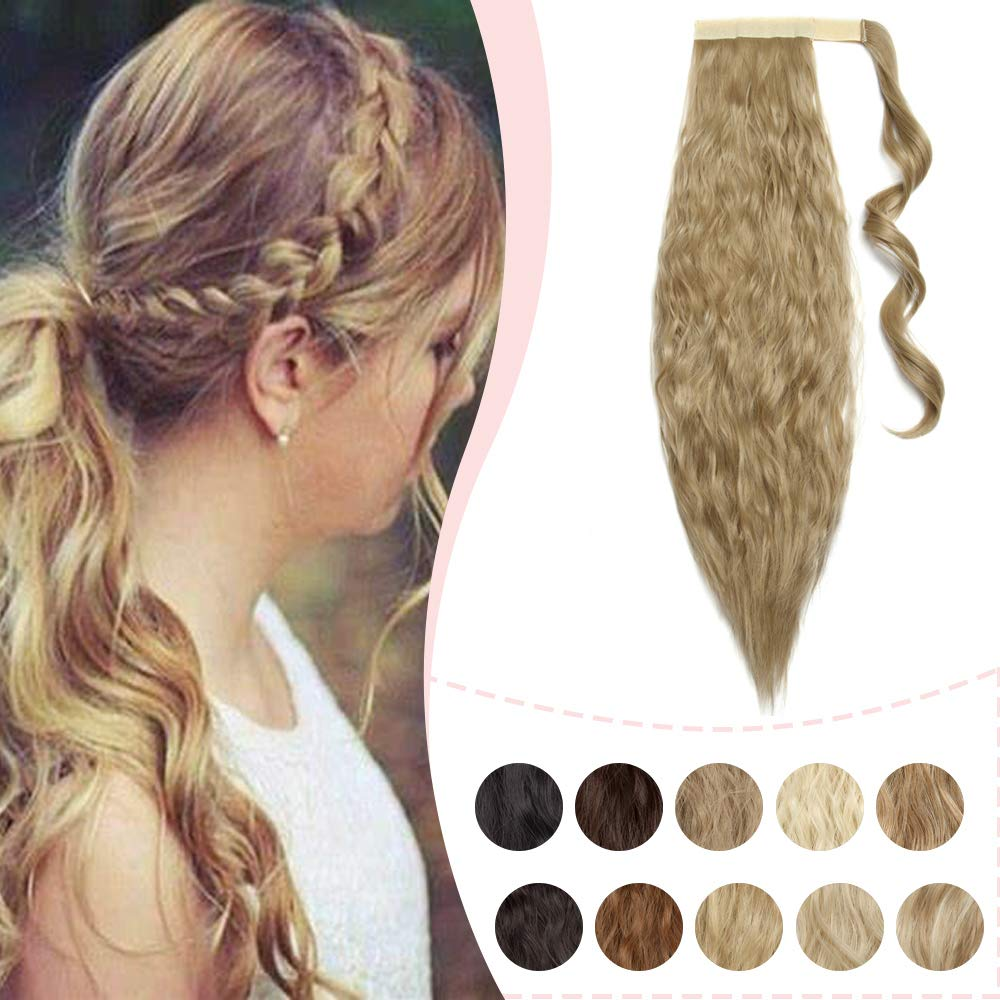Wavy Magic Paste Wrap Limited Charlotte Mall time sale Around Extensions Corn Wav Evenly Ponytail