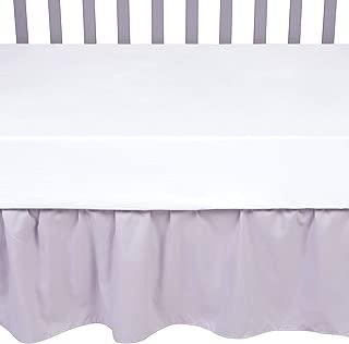 Sammy & Lou 55364 Crib Skirt, Nursery, Gray