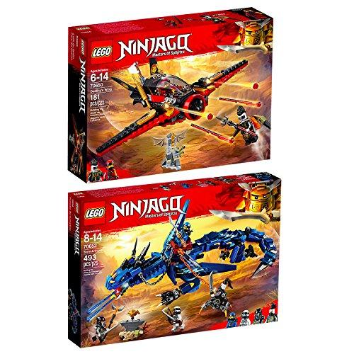 LEGO Ninjago 2er Set 70650 70652 Flügel-Speeder + Blitzdrache