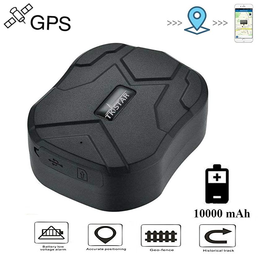 GPS Tracker 150 Days Long Standby Real-time Accurate Location with Strong Magnet for Car Vehicle Fleet Management GPS Locator Device Waterproof Free Tracking Platform TK905B
