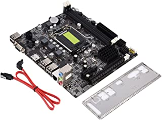 Richer-R placa base tarjeta madre, H61Computer Motherboard B Modelo, LGA 1155placa base, admite DDR3de memoria/Fast Ethernet/4USB2.0/HDMI/VGA/microATX