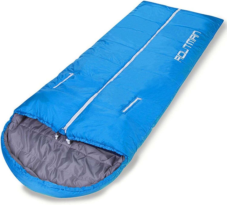 Schlafsack Schlafsack Warm Portable Umschlag Warm Double über die die die schmutzige Reichweite Breathable Cotton Schlafsack geeignet für Outdoor-Camping B07P9C2J9G  Berühmter Laden f8ab2f