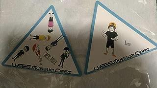 U-FES Museum Cafe 東海オンエア&kazu コースター2枚セット YouTube ユーフェス UUUM