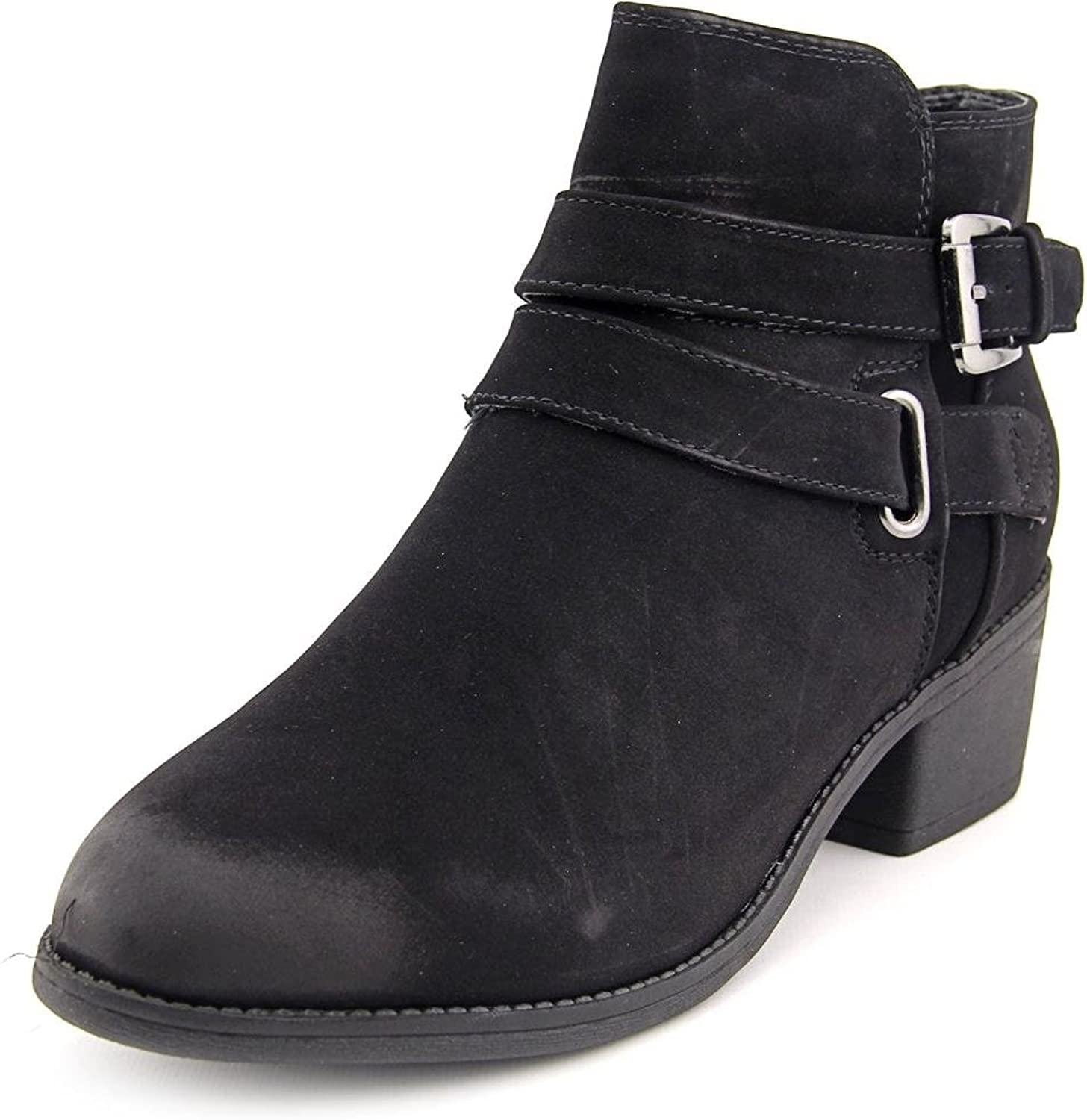 Seven Dials Womens Yarelli Faux Suede Ankle Booties