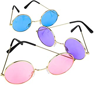 نظارات شمسية من رود ايلاند نوفيلتي دائرية ملونة | واحد لكل طلب- لا يوجد الوان للاختيار بينها
