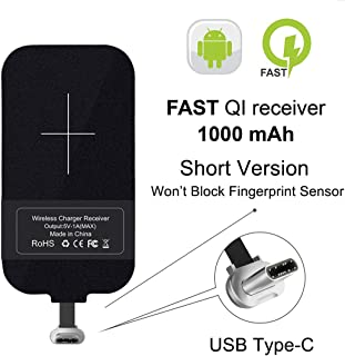 [Short Version] Type C Wireless Charging Receiver, Nillkin Magic Tag USB C Qi Wireless Charger Receiver Chip for Google Pixe/2/3a/Nexus 6P and Other USB-C Phones