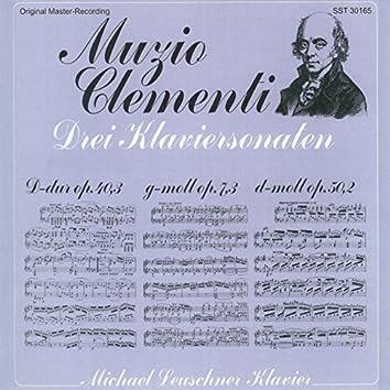 Muzio Clementi: Three Piano Sonatas