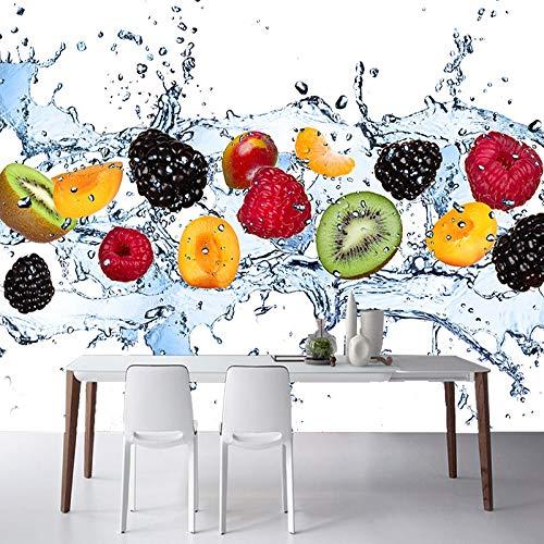 Benutzerdefinierte Wandmalerei Frisches Obst Fototapete Restaurant Wohnzimmer Küche Hintergrund Wandbild Vliestapete Modern