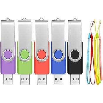 5 Unidades Pendrives 1GB Memorias USB 2.0: Amazon.es: Electrónica