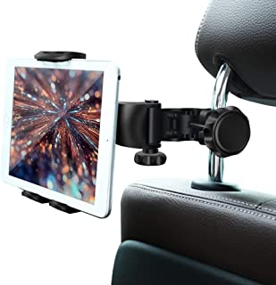 Car Headrest Mount,Car Headrest Tablet Holder for iPad Pro/Air/Mini,Kindle Fire HD,Nintendo Switch,iPhone&Other Smartphone...