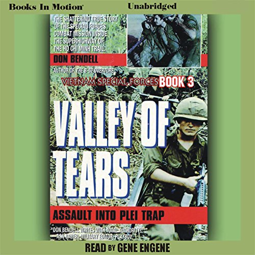 Valley of Tears: Assault Into the Plei Trap Valley audiobook cover art