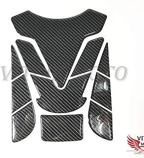 Fibra de Carbono VITCIK Protector de dep/ósito para Moto 3D protecci/ón de dep/ósito de Combustible para Moto gsxr calcoman/ía