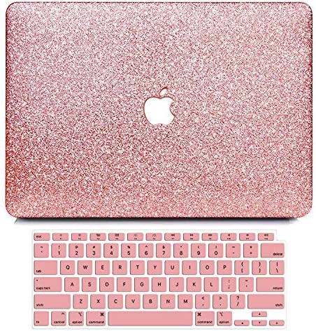 B BELK MacBook Air 13 inch Case 2020 2019 2018 Release A2337 M1 A2179 A1932 with Touch ID Glitter product image