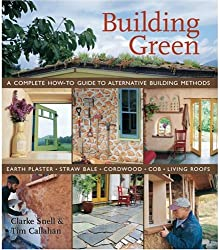 a book cover about how to build an eco friendly house