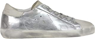 GOLDEN GOOSE Women's MCGLCAK000006061I Silver Leather Sneakers