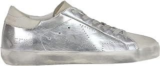 GOLDEN GOOSE Luxury Fashion Womens MCGLCAK000006061I Silver Sneakers | Season Outlet
