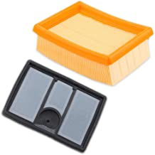 Kaymon 4224 141 0300 Air Filter Set for Stihl TS700 TS800 Concrete Cut Off Saw Replace 4224-140-1801