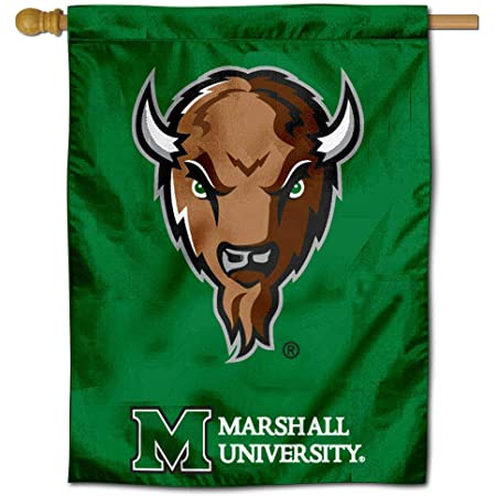 College Flags and Banners Co Marshall Thundering Herd Car Flag