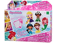 Create your favorite Disney Princesses - Ariel, Belle, Rapunzel, Tiana and Jasmine! Over 600 jewel and solid beads in 19 colors, layout tray, sprayer, 2 template sheets amd instructions Make, Spray and they Stay! Peel your creation in 10 minutes and ...