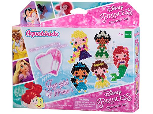 Aquabeads 30238 Disney Prinzessinnen Figurenset - Bastelset