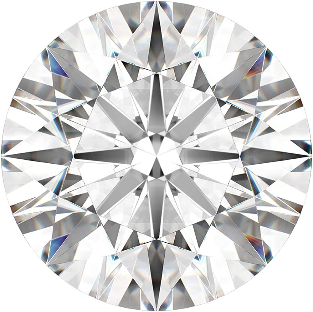 CERTIFIED It is very popular 1.3 MM 0.01 Cts. Diamonds Loose Fancy White Natural Tulsa Mall