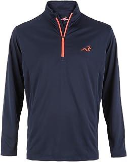Woodworm Golf Mens 1/4 Zip Pullover/Sweater/Jumper