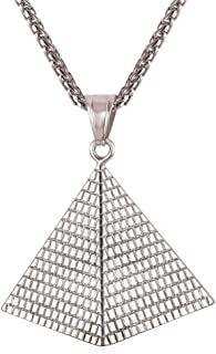 Best pyramid pendant necklace Reviews