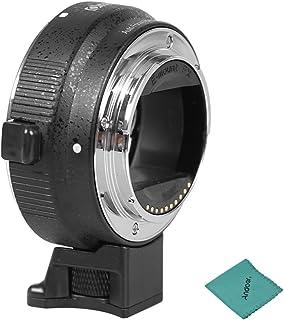 Commlite Adaptador de Lente Adaptador para Objetivos de Canon EF / EF- S a C¨¢maras de Sony NEX3 , NEX5 , NEX6 , NEX7 , A5000 A6000 y la Serie de c¨¢maras EVIL con Funciones de Ajuste de enfoque y iris Autom¨¢tico