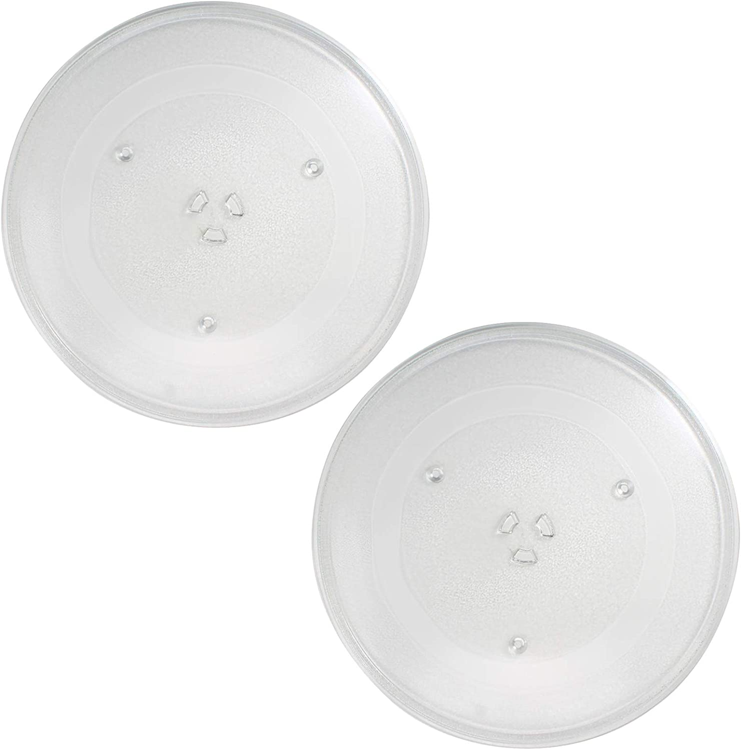 2-Pack service Max 54% OFF WB49X10063 Microwave Glass Replacement fo Turntable Plate