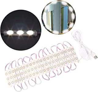 Makeup Mirror Lights,  LED Vanity Mirror Lights Dimmable Bulb Light String Strip Kit
