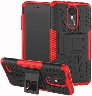 LG Aristo 2/LG Tribute Dynasty/LG Zone 4/LG Fortune 2/Risio 3/Rebel 3 LTE Phone/Rebel 2/K8 2018/K8+ Plus/Fortune/Risio 2 Case,UZER Dual Layer Rugged Hybrid Hard/Soft Case With Kickstand for LG K8 2018