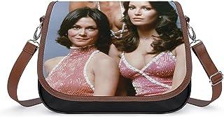 Charlie's Angels Damen Vintage Taschen Handtasche Retro Schultertasche Unterarmtasche