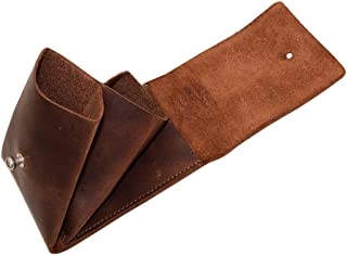 Hide & Drink, Leather Multiple Layer Card Holder/Bag/Pouch/Wallet/Change Holder/Card Organizer/Accessories, Handmade Includes 101 Year Warranty :: Bourbon Brown