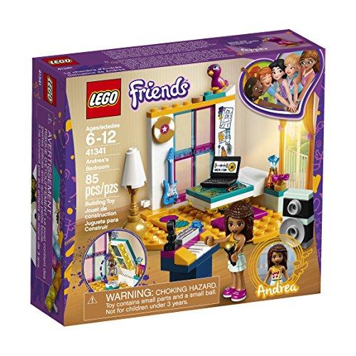 Lego Friends - Dormitorio de Andrea, Color, Talla única (41341)
