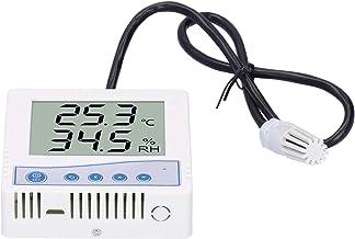 Sensor electrónico, sensor digital de temperatura y humedad, transmisor transmisor de temperatura, pantalla LCD de alta precisión con sonda, para transmisores de temperatura y humedad(Cosa análoga)