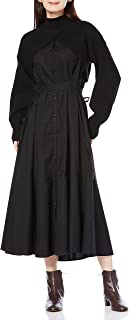 SNIDEL 短款针织层连衣裙 SWNO214083 女士