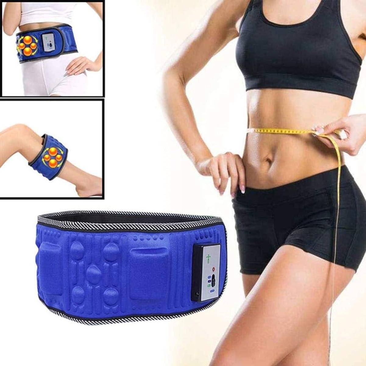 セッション表現慣性腰マッサージャー、電動振動痩身ベルトマッサージャー、痩身ベルト振動脂肪燃焼痩身ベルト、ウエストトレーナー