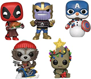 Funko Pop! Marvel: Holiday 2019 Collection (Set of 5)