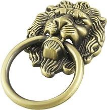 Cikuso Antieke stijl brons leeuw hoofd design lade ring handvat knop