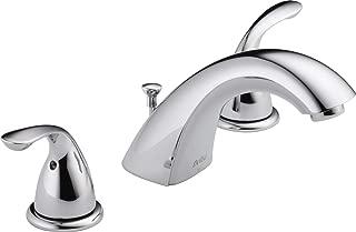 Delta Classic Two Handle Widespread Lavatory Faucet, Chrome, 3530LF-MPU