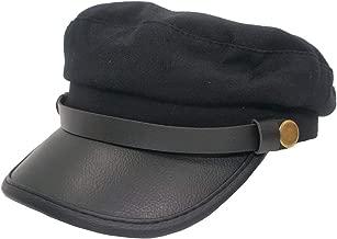 Roffatide Unisex Adult Chauffeur Costume Driver Cap Cosplay Officer Fiddler Hat