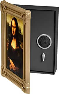 BARSKA Picture Frame Safe with Combination Lock