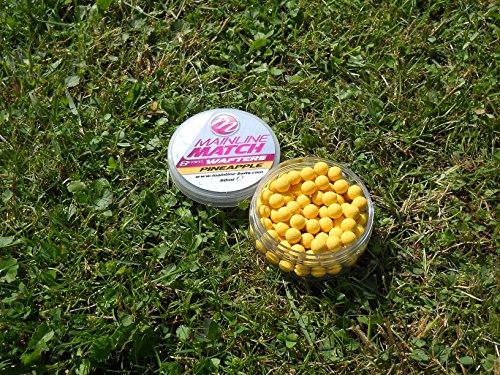 Mainline Match Wafters 8mm 50ml Yellow Pineapple MM3104 Wafter ausbalancierter Hakenköder Hookbaits