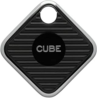 Buscador de llaves Cube Pro Rastreador inteligente Bluetooth Rastreador de, niños, gatos, equipaje, billetera, con aplicación para teléfono, batería reemplazable Dispositivo de rastreo impermeable