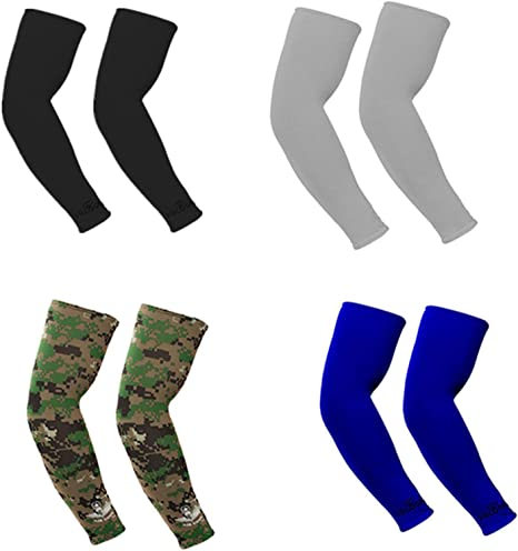 Cycling Arm Sleeves UV Protection Arm Warmers Sports Arm Covers Men Women