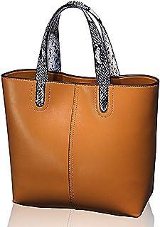 Shoulder Bag Top Purse Messenger Tote Bag, Satchel Handbags, Women Pu Leather Vertical Utility Bag,Yellow