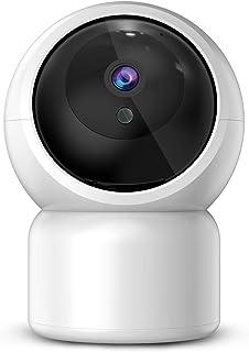 Cámara Bebé 1080P Cámara IP JUMPER Cámara de Seguridad Wlan Pan/Tilt ONVIF IP Cam P2P Cámara de Red Monitor de Bebé Audio de 2 Vías la Visión Nocturna Detección de movimiento