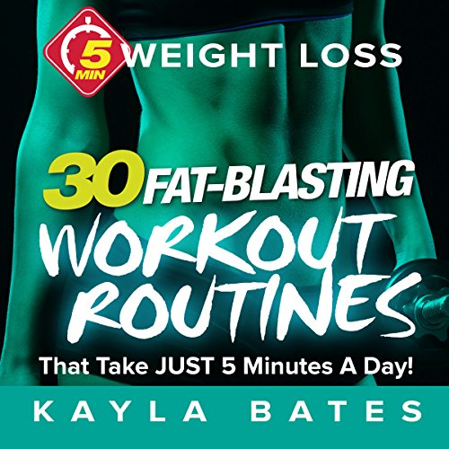 5-Minute Weight Loss audiobook cover art