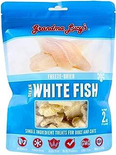 Grandma Lucy's - Singles Ocean White Fish Pet Treats – 2Oz